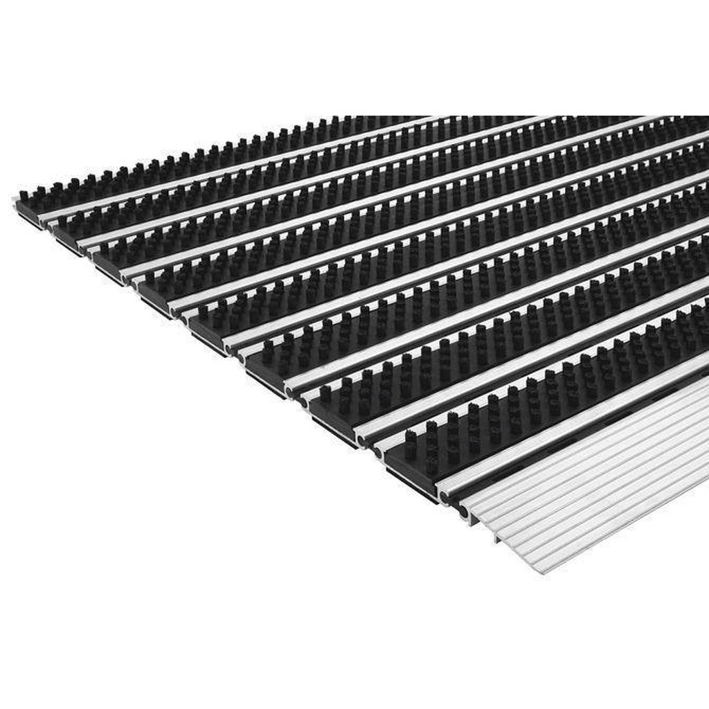 Aluminum Doormat Steel Mats Professional Brush Slim, Non Slip