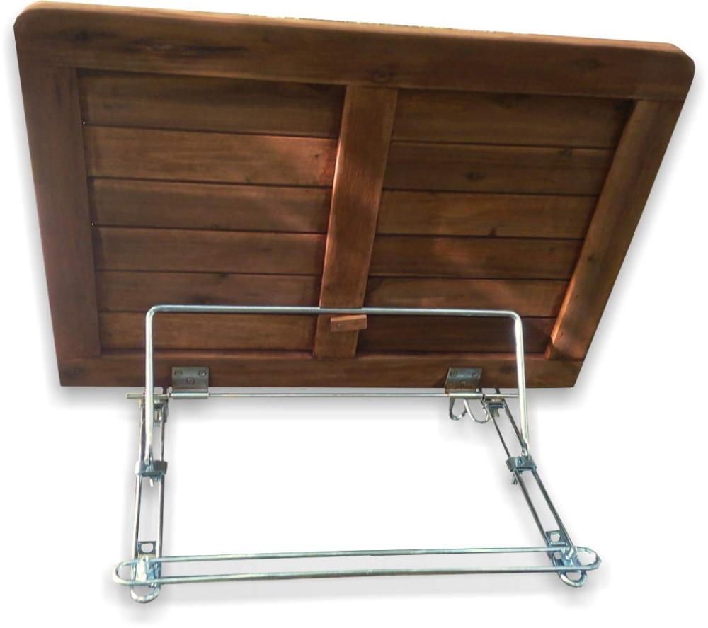 Tavoli Pieghevoli Per Balconi.Click Deck Tavolo Pieghevole Da Balcone In Legno Massiccio Da