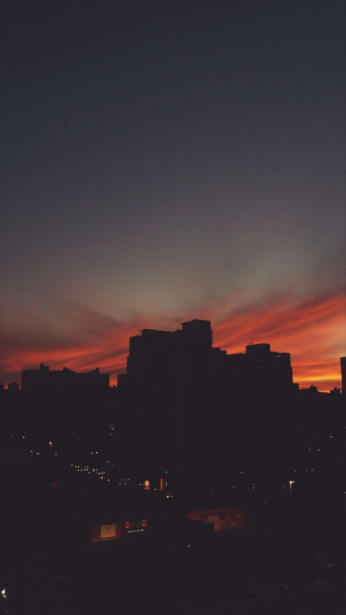Por Do Sol Em Brasilia Tumblr Wallpaper Fotografia Noturna