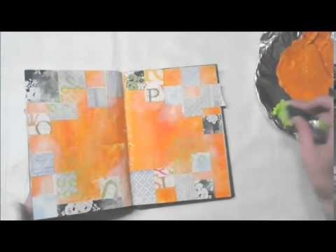 Mini workshop art journal