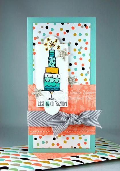 It's YOUR Day - Get stamp set and paper products at www.linasstampindreams.stampinup.net