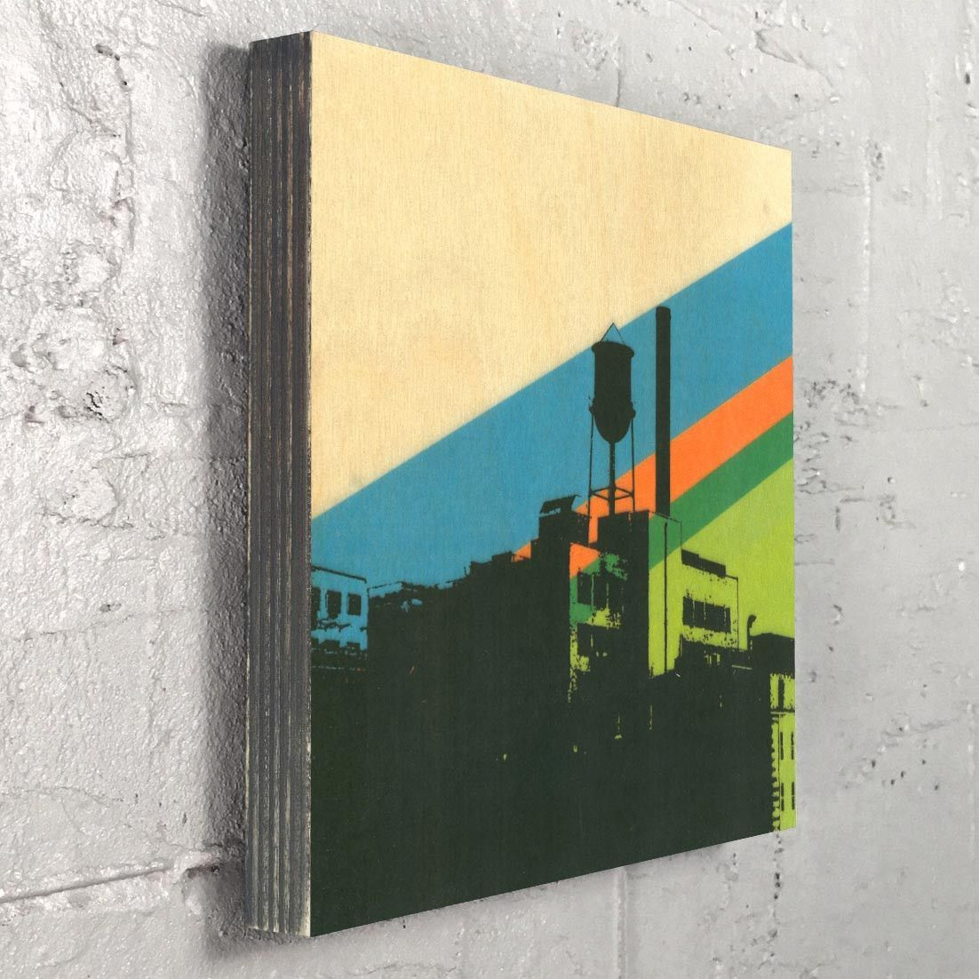 Water Tower Wall Art - Urban Decor | Products, Graphics and Decor