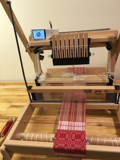 TempoTreadle on the Jane Loom | Weaving | Weaving, Loom, Loom weaving