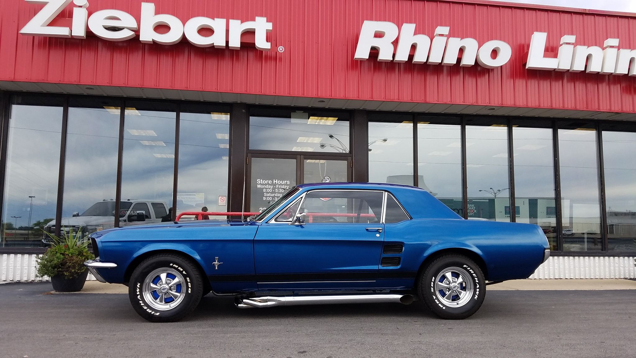 1967 Ford Mustang Mustang, Spray on bedliner, Paint