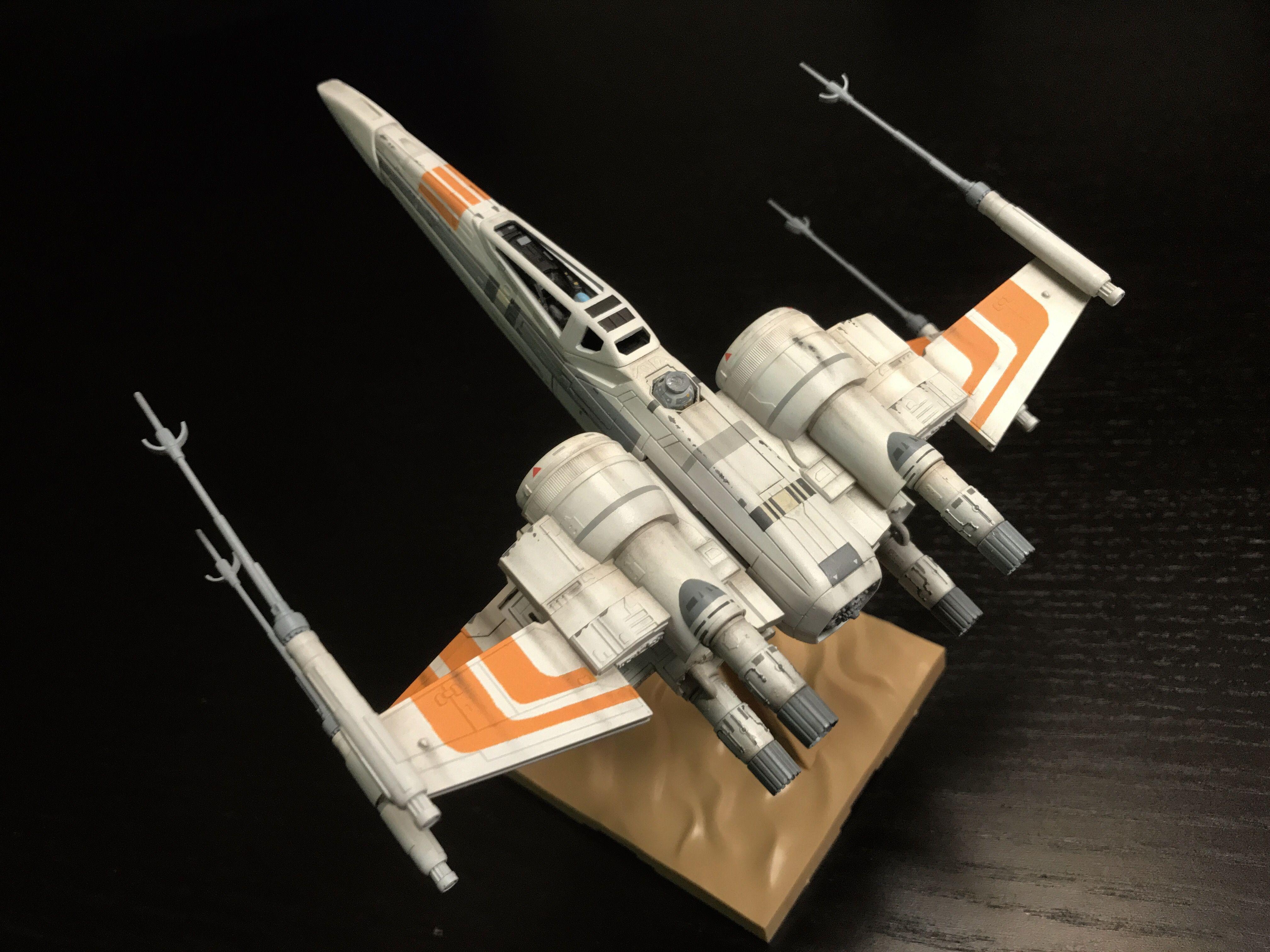 Bandai Star Wars Ralph McQuarrie X Wing Concept Starfighter