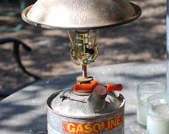 Rat Rod, Gas Can Lamp, Repurpose Furniture