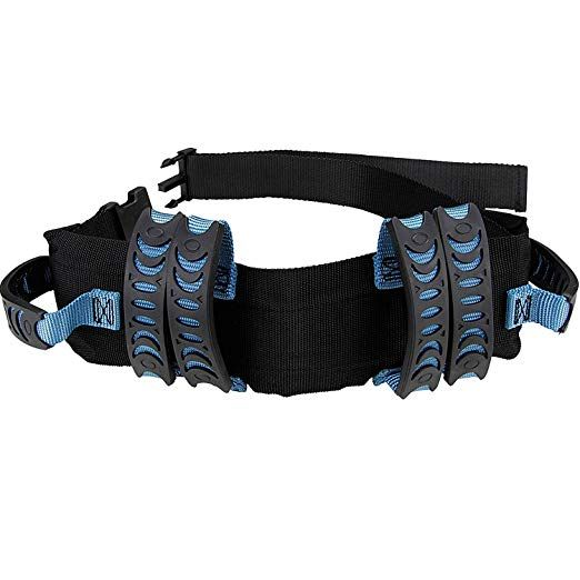 Gait Belt Walking Transfer Belt With 6 Plastic Padded