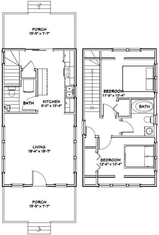 Details About Adobe House Plans 2 Bedroom Diy Home Building