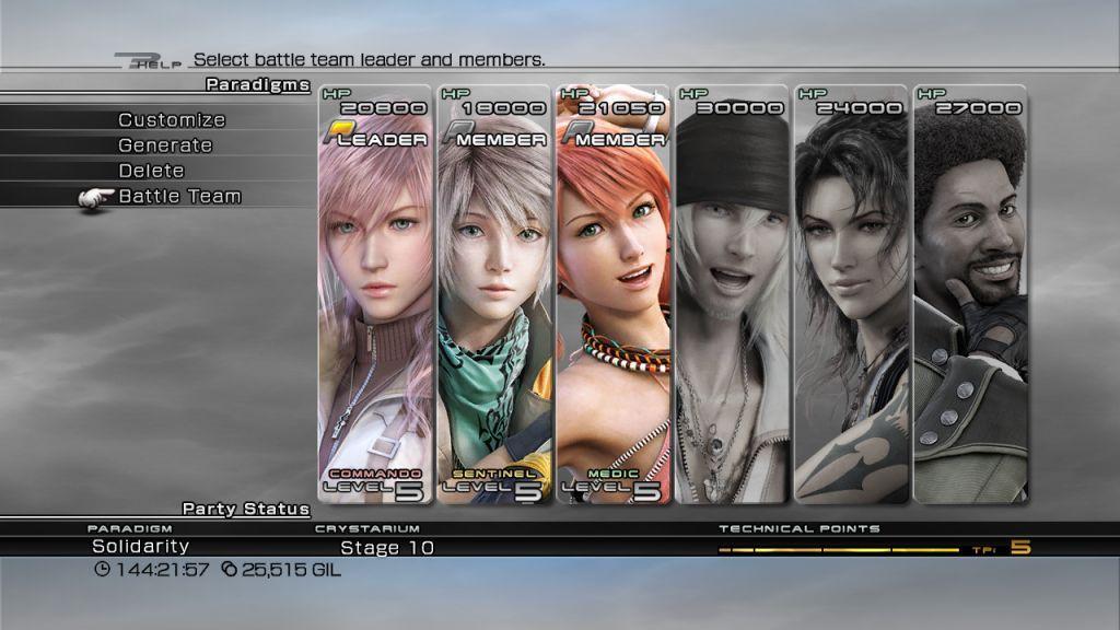 Favorite game menu(s)? - NeoGAF