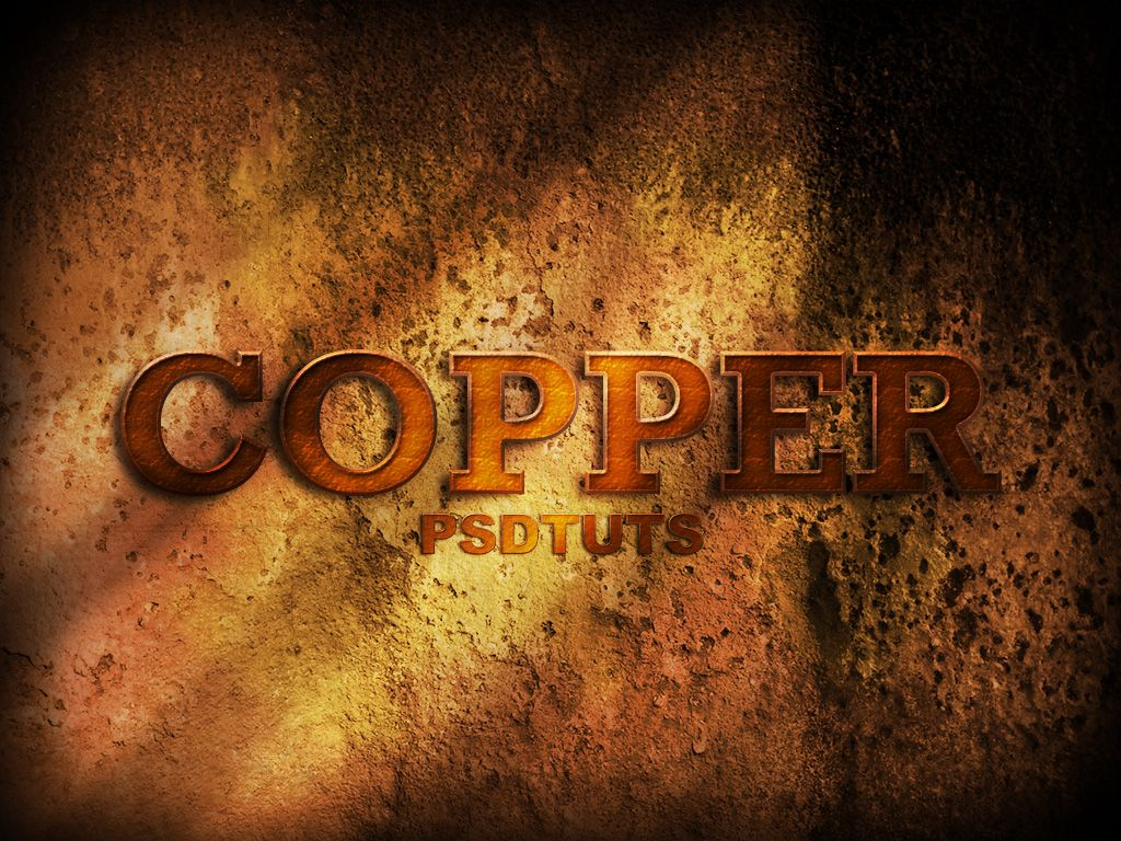 Copper photoshop tutorial say cheese pinterest photoshop how to create a copper photoshop text effect currently viewing photoshop tutorials from photoshop lady baditri Images