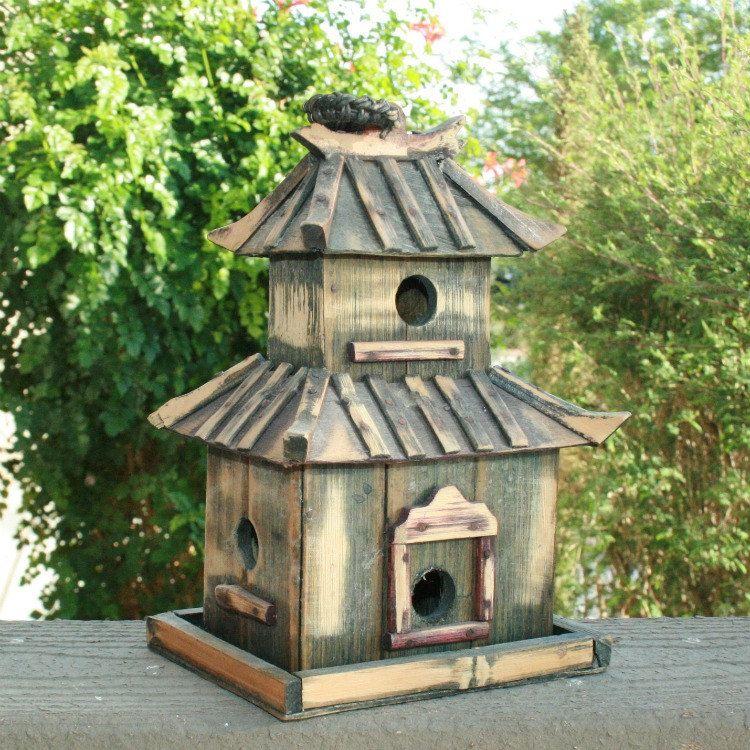 Japanese Pagoda Bird House Unique Bird Houses Bird Houses Bird