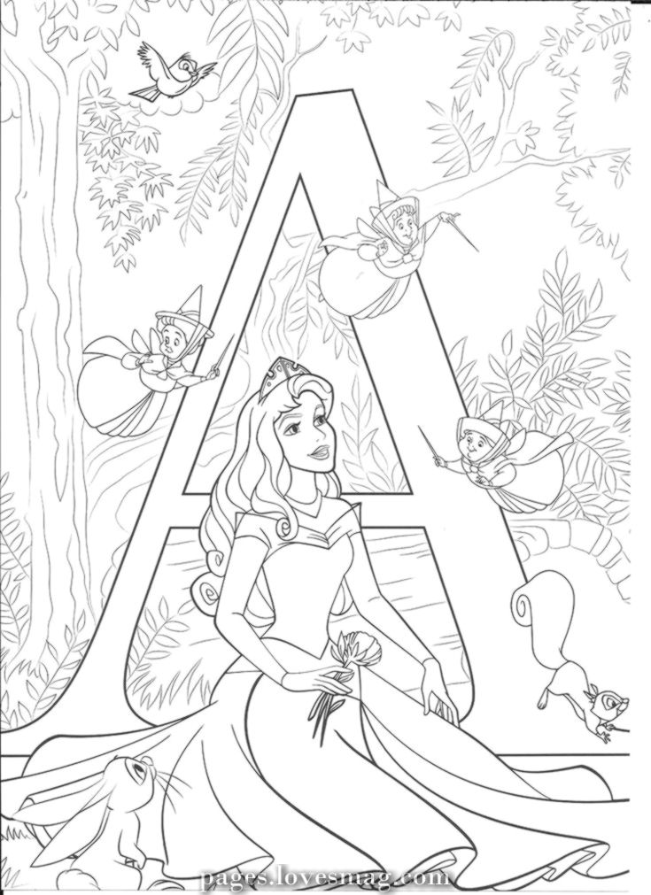 Amazing Disney Alphabet Abc Coloring Pages Disney Princess Coloring Pages Disney Coloring Sheets