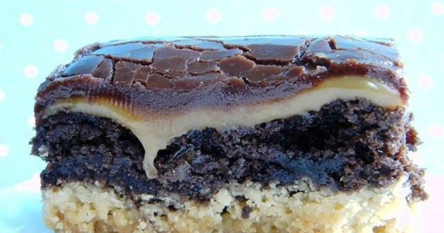 "Picture from  jaseyscrazydaisy        Twix Brownies     ""Who'd have thought Twix could get any better?""     Ingredients:     Crust Layer  ..."
