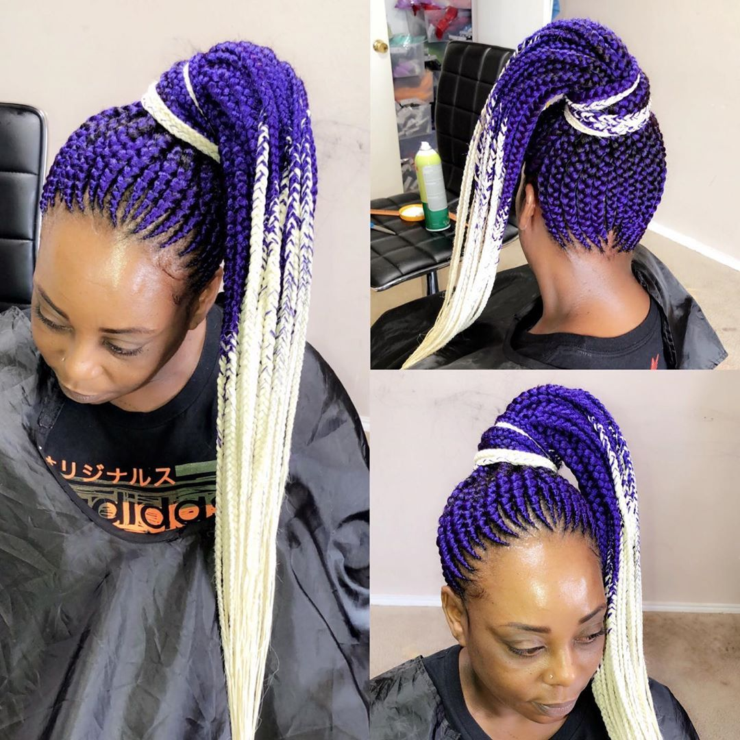 New 2020 Braided Hairstyles Choose Your Favourite Braids Colour Hair Styles Braided Hairstyles Cornrow Braid Styles