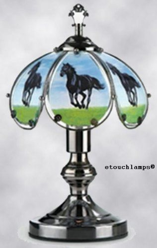 14 Inch Black Horse Touch Lamp By Ok Lighting Http Www Amazon Com Dp B004rcwtre Ref Cm Sw R Pi Dp 8 Csrb0v76zk0 Touch Lamp Black Horse Lamp