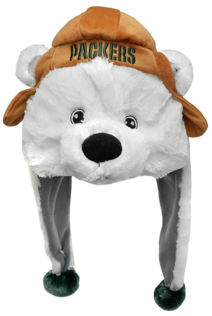 1fb3f90b Green Bay Packers Mascot Themed Dangle Hat | Green Bay Packers ...