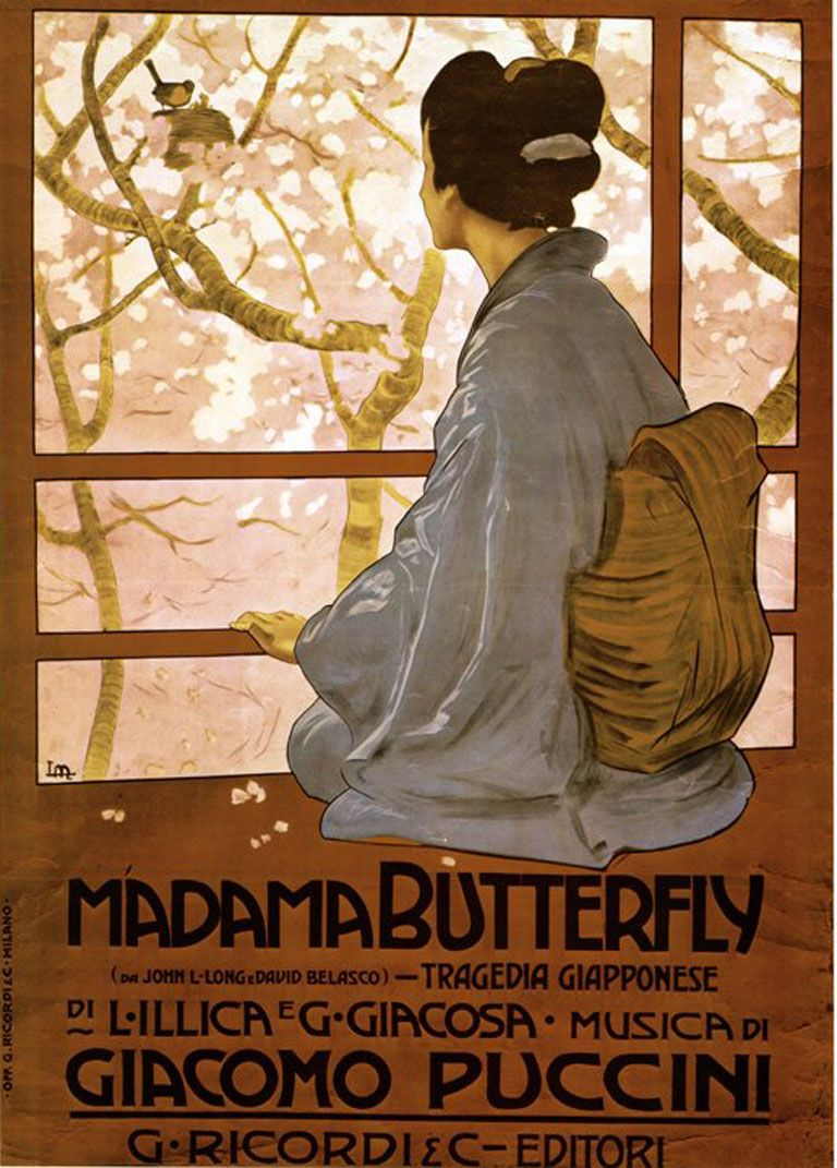 Image result for Madame Butterfly opera 1904 images