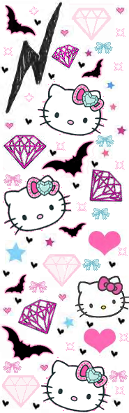 Hello Kitty Layout Image Graphic