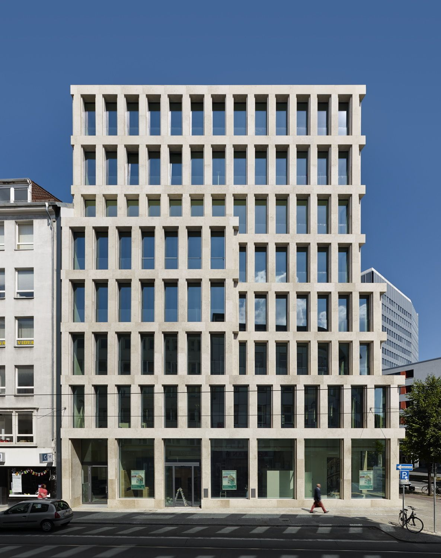 Architekturbüro Bremen vornehme zurückhaltung stadthaus max dudler in bremen