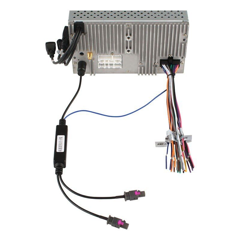 zu DIN ISO für BMW 5er E39 E61 E60 m Auto Radio Antennen Adapter Kabel FAKRA Z