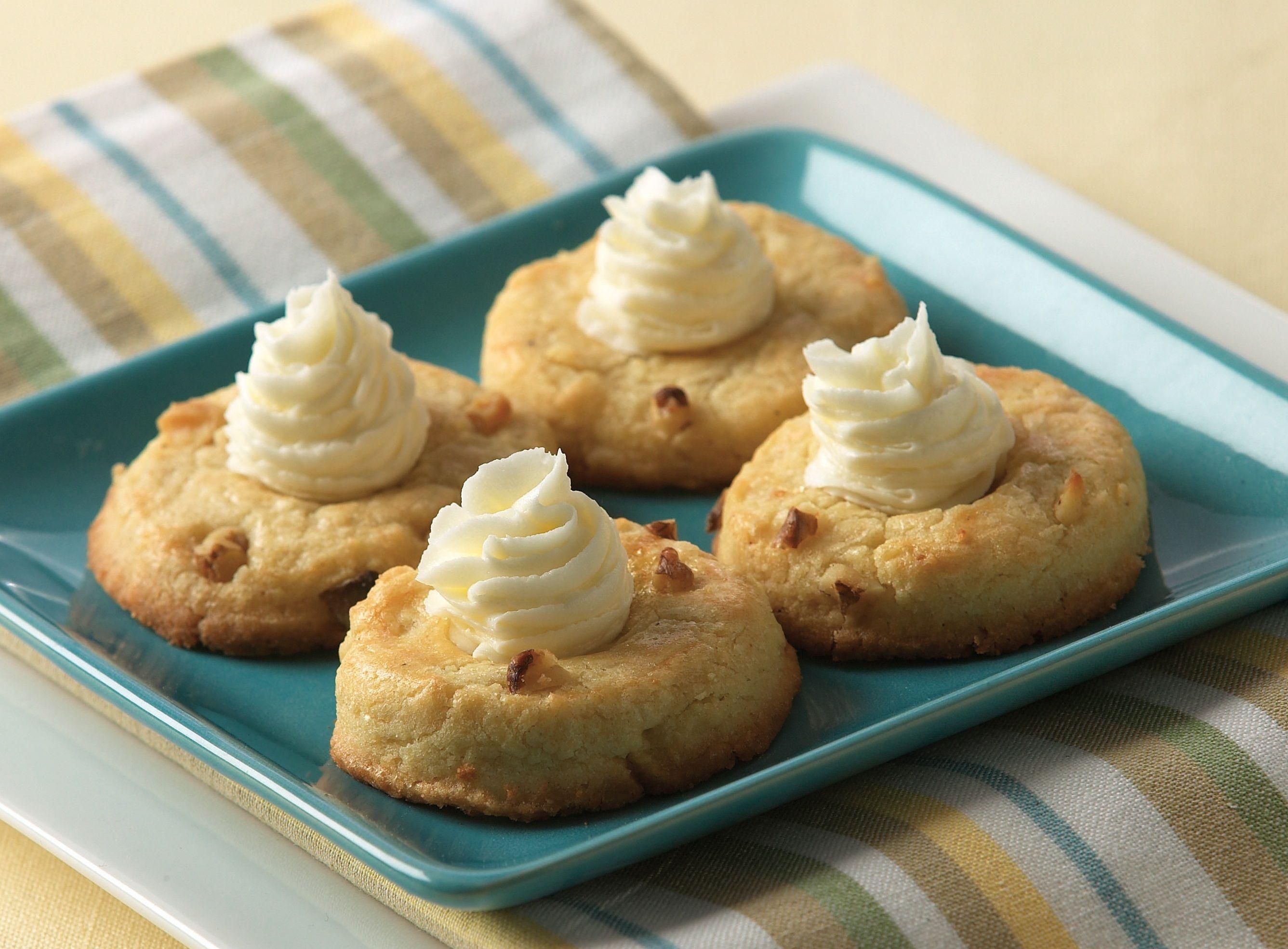 Eggnog Thumbprint Cookies Recipe Recipes Thumbprint Cookies Thumbprint Cookies Recipe