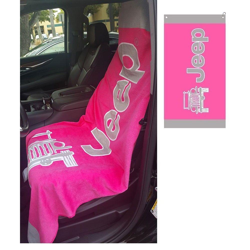 Towel2Go Pink With Jeep Logo Jeep Wrangler 20072018