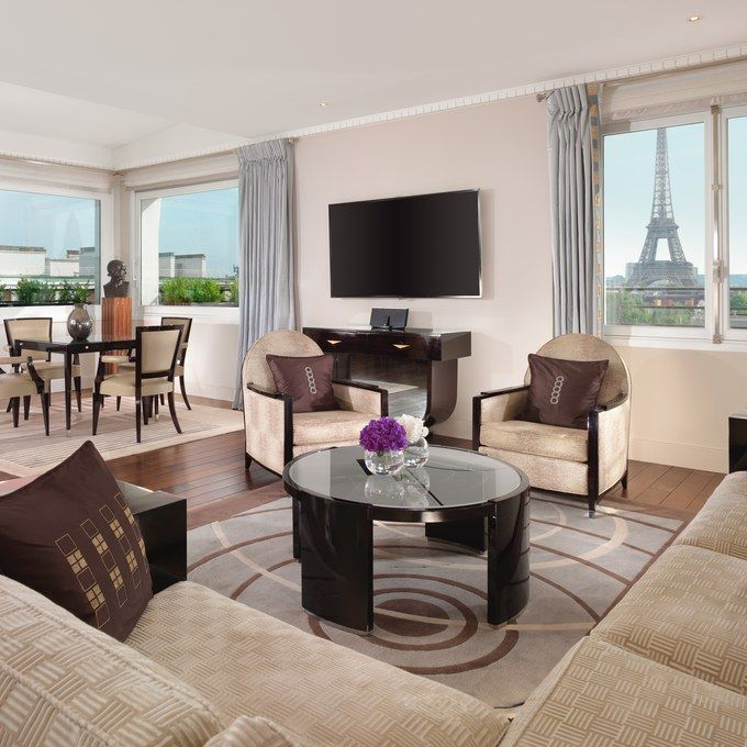 The Most Requested Suites at the Hôtel Plaza Athénée in Paris | Art ...