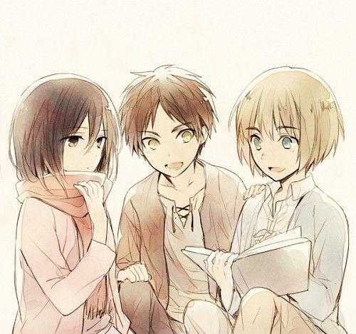 the three friends!!