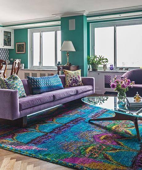 2018 Yılının Rengi Ultra Viyole Beyaz Yatak Odalari Ve Mutfaklar