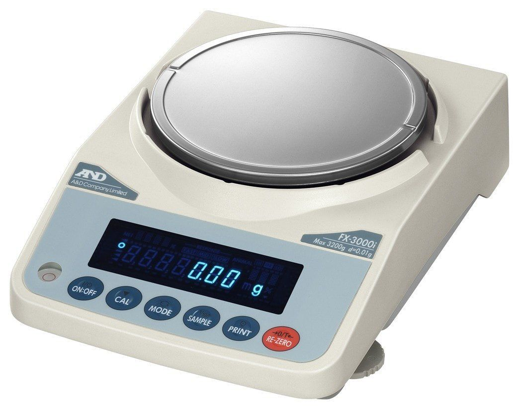A&D FX3000iN NTEP Class II Precision Balance Products