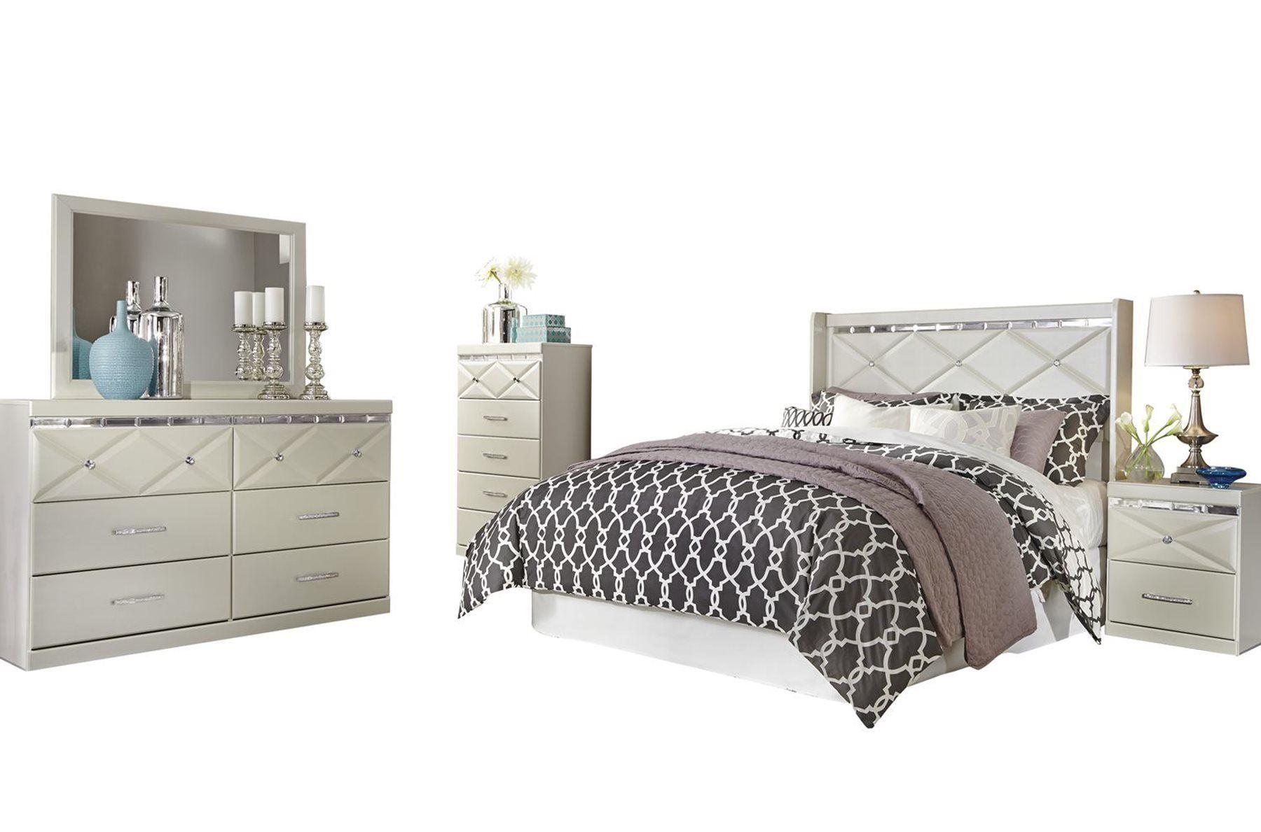 Best Ashley Dreamur 5Pc Bedroom Set Full Panel Headboard 640 x 480