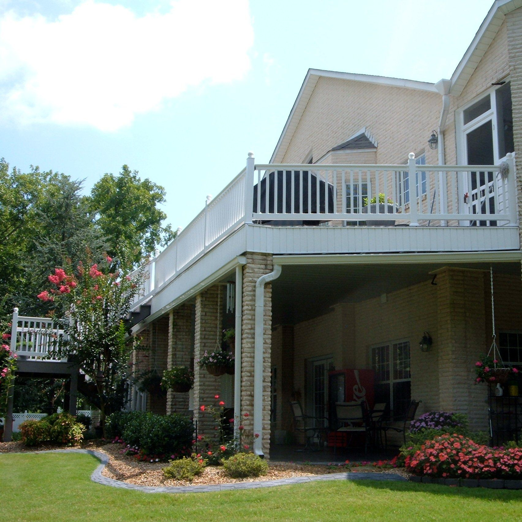 Yorkshire Vinyl Railing Is A Durable And Economical Solution For Your Deck, Patio  Or Porch