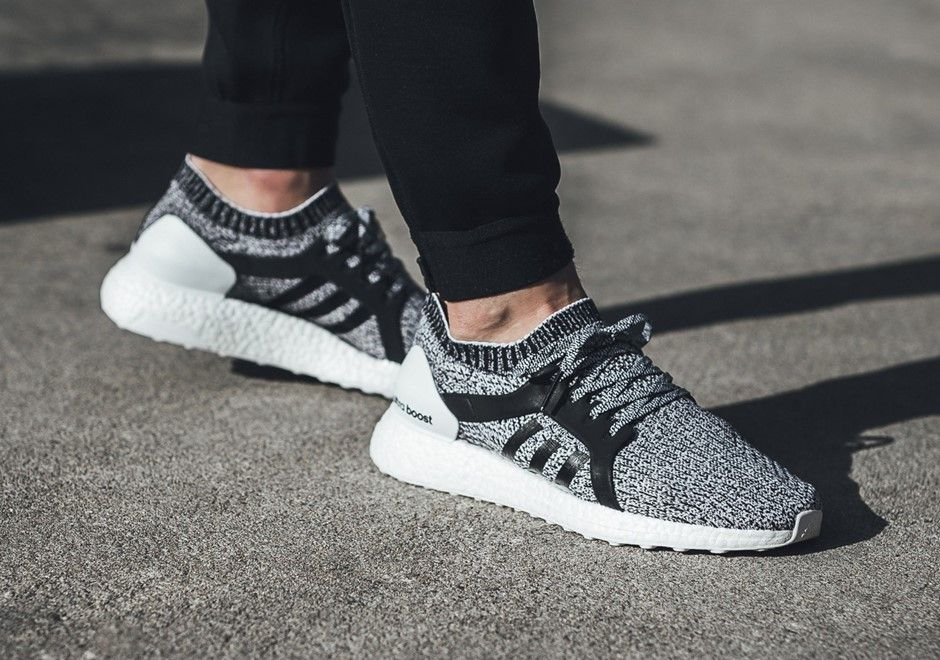 The Women's adidas PureBoost X Releases In Black And White