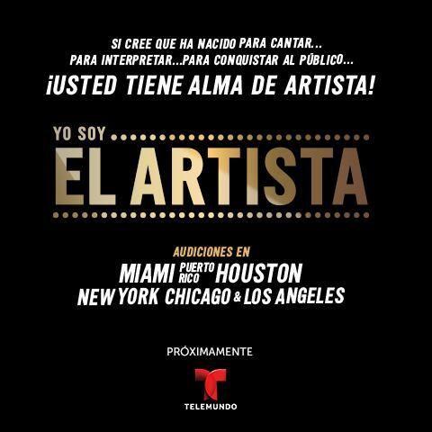 "Yo Soy El Artista"" Casting Call in Miami area | Casting"