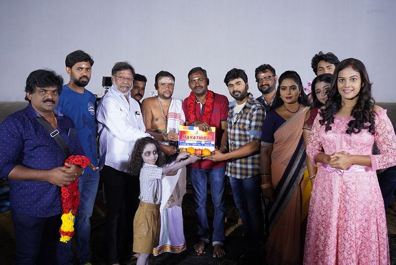 Sri Sanakara Narayana chaamundeswari films Presents 'MayaThirai' The film shooting started !