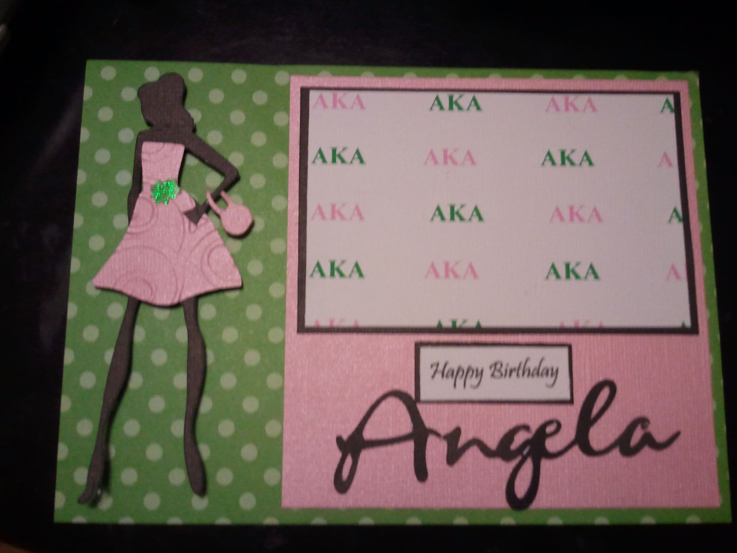 Alpha Kappa Alpha - Scrapbook.com | Cards | Pinterest | Alpha kappa ...