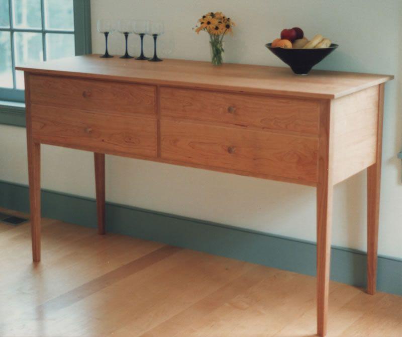 4 Drawer Shaker Sideboard Shaker Furniture Handmade Furniture