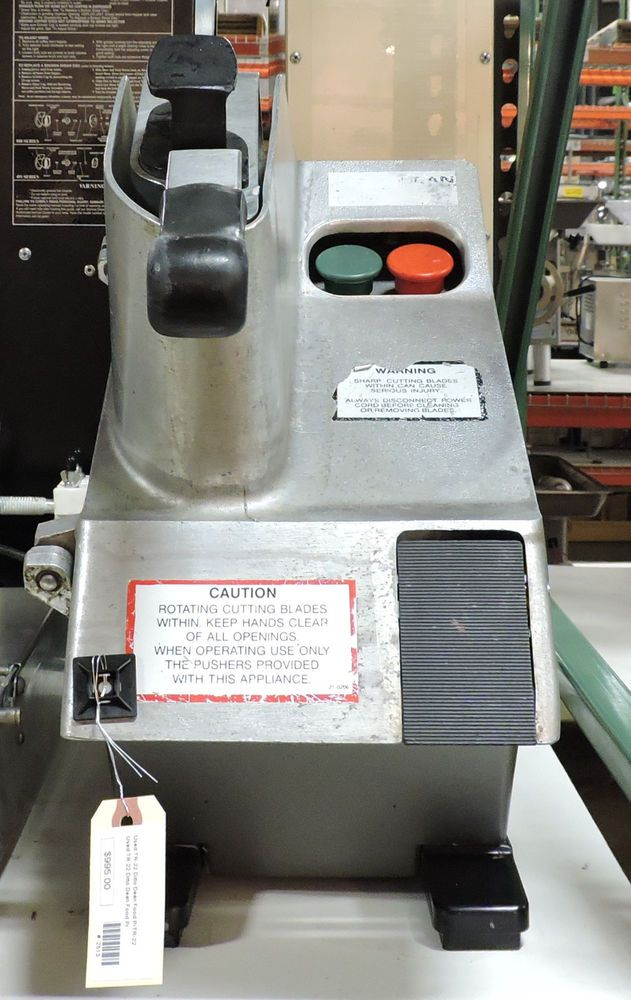 Used Dito Dean TR22 Commercial Food Processor #DitoDean Commercial Kitchen  Equipments, Industrial Restaurant,