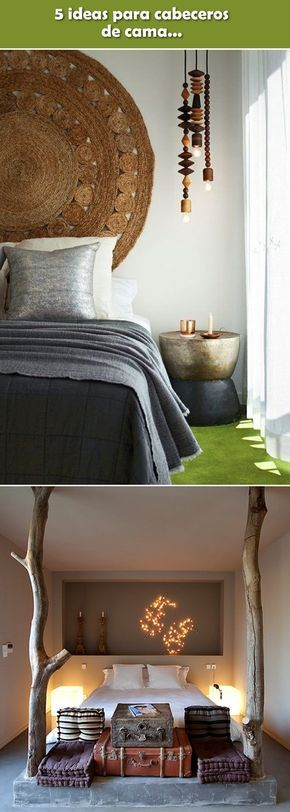 5 ideas para cabeceros de cama decoracion cabecera de for Decoracion de interiores ideas originales