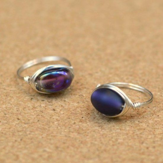 Wire Ring Beads: Turn Those Stray Beads Into Pretty Accessories! Video