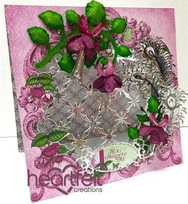 Heartfelt Creations | Feathers And Fuchsias