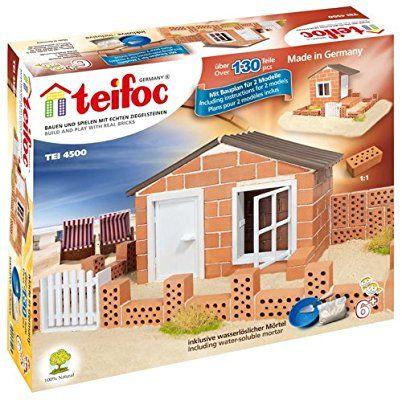 teifoc 2042822 jeu de construction en briques maison de plage - Jeu De Construction De Maison Gratuit