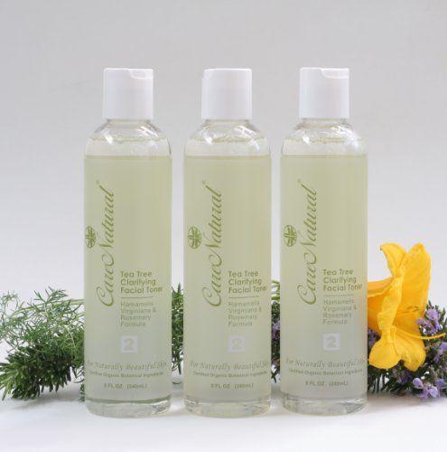CareNatural Tea Tree Clarifying Facial Toner 380oz Set Natural  Organic -- Continue to the product at the image link.