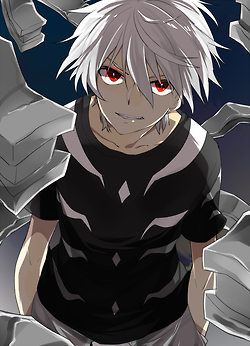 Accelerator To Aru Majutsu No Index A Certain Magical Index Anime Boy Hair White Hair Anime Guy Anime