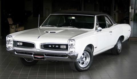 Now This Is The Epitome Of A Classic Muscle Car The Magnificent 1966 Pontiac Gto Coupe Hardtop Is This Something You L Pontiac Gto Classic Cars Muscle Cars