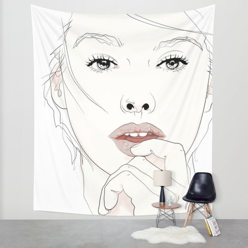 naked_Pirates Mania Wall Tapestry by SEVENTRAPS | Society6