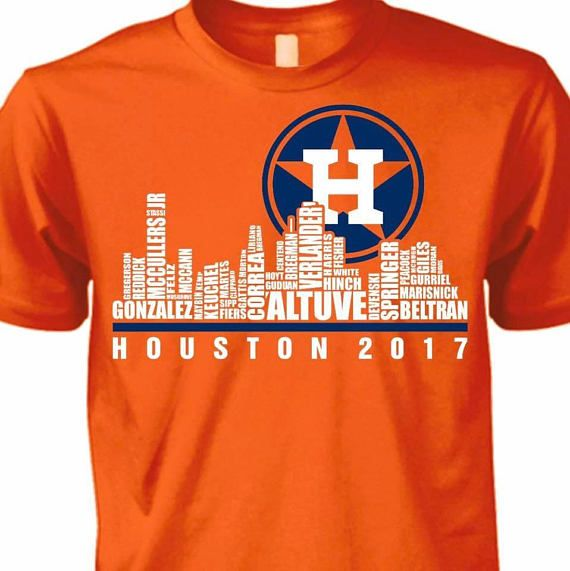c4f4c17a Houston Astros Skyline T-shirt/ Houston Astros/ World Series Champs ...