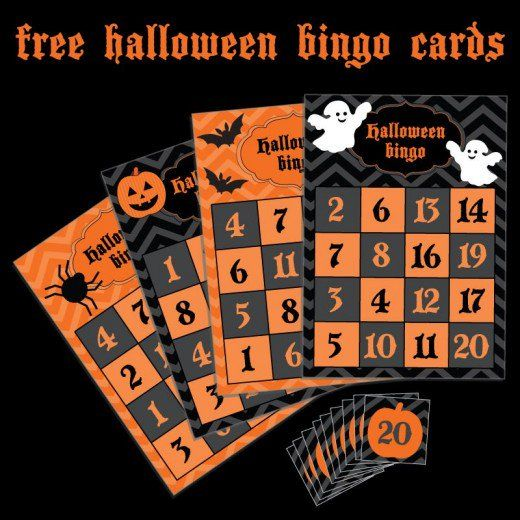 Kids Halloween Party Games Halloween bingo cards, Halloween bingo - halloween design