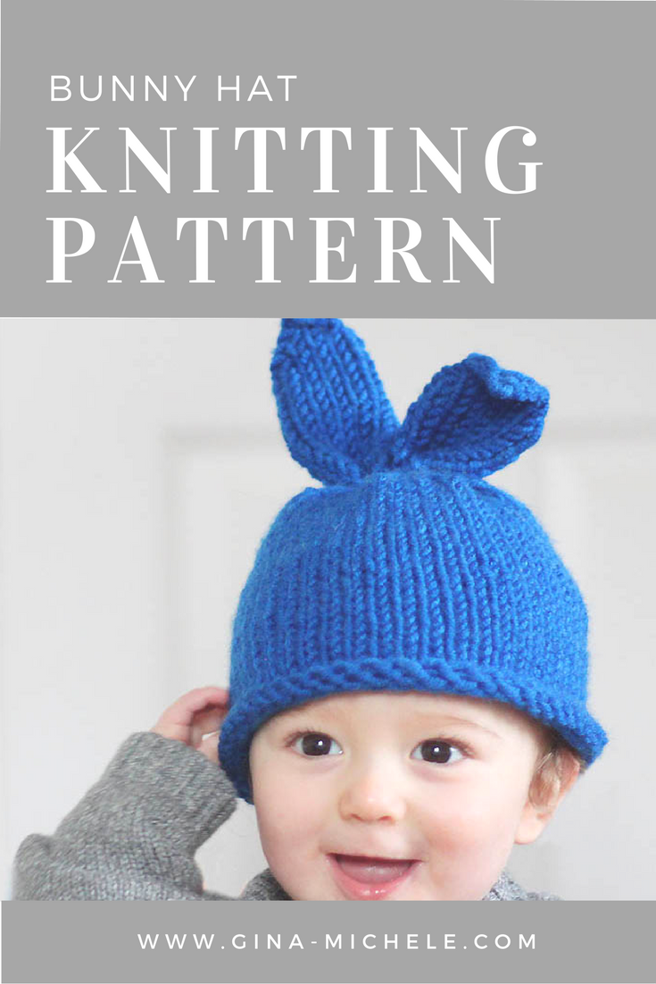Baby Bunny Hat Knitting Pattern Baby Hats Knitting Baby