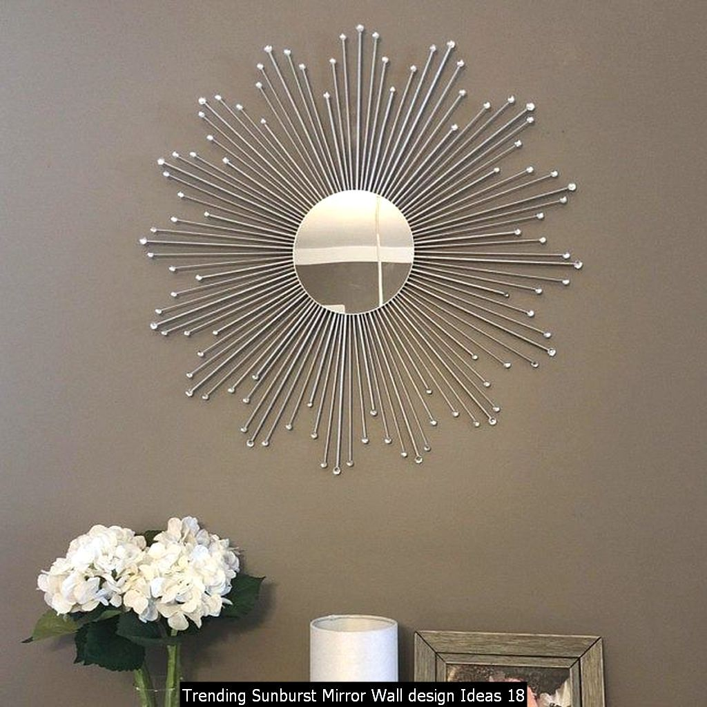 Trending Sunburst Mirror Wall Design Ideas In 2020 Starburst Mirror Sunburst Mirror Gold Sunburst Mirror
